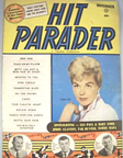 Hit Parader Cover from November, 1958