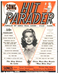 Hit Parader Cover from February 1943