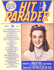 Hit Parader Cover from March 1945