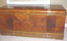 Cavalier Cedar Chest 1940s , closed