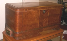 Andreas Cavalier Cedar Chest