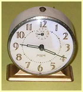 Ingraham Ace Alarm Clock