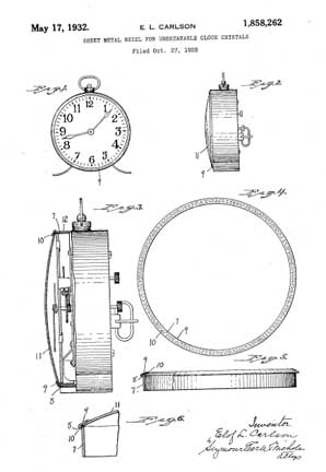 Carlson Patent Patent 1,858,262