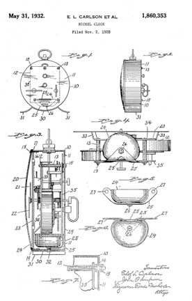 Carlson Patent Patent 1,860,353