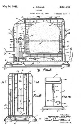 Murray Ireland Patent 2,001,362