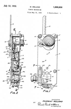 Ireland Patent 1,866,808 for the Popup Mechanism