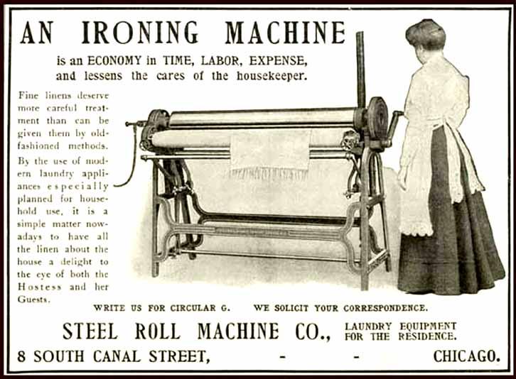 kenmore mangle ironing machine