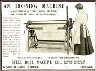 Steel Roll Ironer Ad