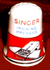 Singer Ironer promotional Thimble