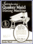 Quaker-Maid Ironer Ad