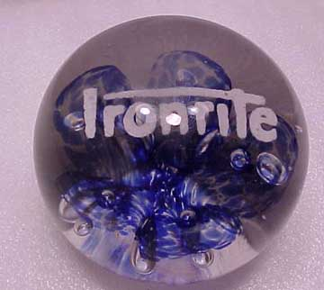 The Ironrite Paperweight