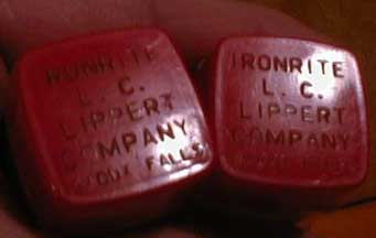 The Ironrite Saltshakers