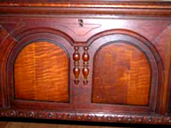 Cavalier Cedar Chest Jacobean Chest - doors