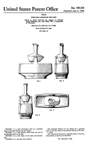 Presto Rock-N-Mix Food Mixer Design Patent D-198333