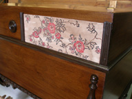 Jills 1930s Jacobean  Cavalier Cedar Chest  - after