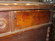 Jills 1930s Jacobean  Cavalier Cedar Chest  - BEFORE