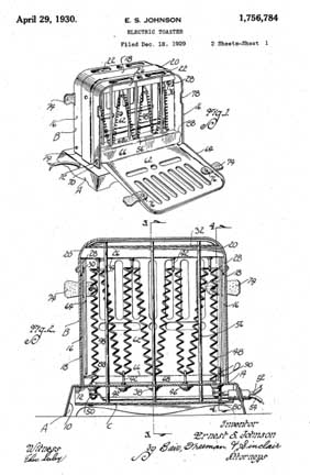 Mr. Johnson's Patent 1,756,784