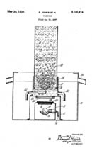 Jones and Hamel Fountain Patent 2160474