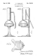 Scurlock juicer design patent D-110074