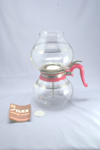 Red Silex Vacuum Coffee Maker