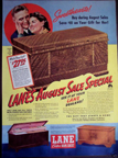 Lane Cedar Chest Adverisement from 1939