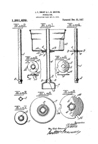Landers Frary and Clark Coffee patents - Improved Percolator Basket Patent No. 1,251,432