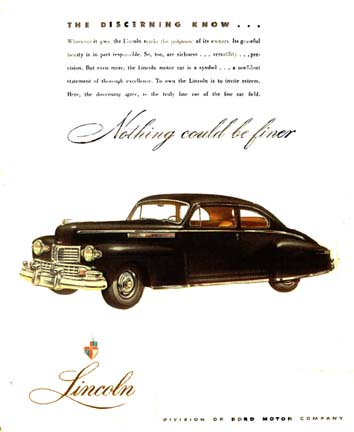 The 1946 Lincoln