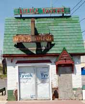 Remaining Hulk of a Little Tavern Store