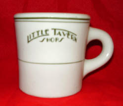 Mug from the Little Tavern chain