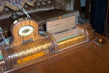 Cavalier Cedar Chest with clock and jewlry drawers