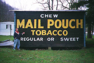 Mail Pouch Sign