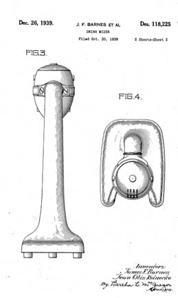 Barnes and Reinecke Patent 118225