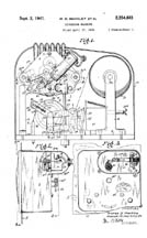 Markley Recorder Technical Patent No. 2,254,661