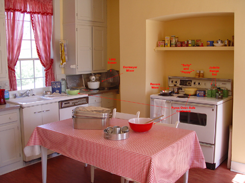 The Kitchen at Dodona Manor, Leesburg, Va