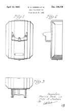 Kellog Masterphone Model 9900 Design Patent D-104,109