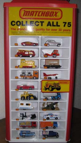75 car matchbox collection