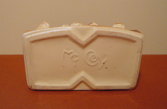 McCoy Mark on back of stotty planter