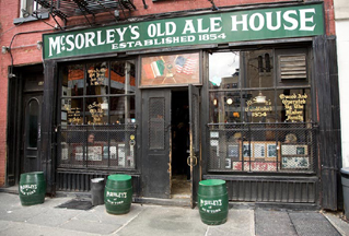 Exterior McSorleys Old Ale House, NYC