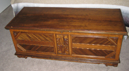 Mike's (Dec 2009) Cedar chest