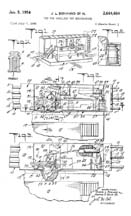 Milk Car patent Sheet 1 No. 2,664,664