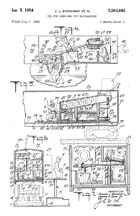 Milk Car patent Sheet 2 No. 2,664,664