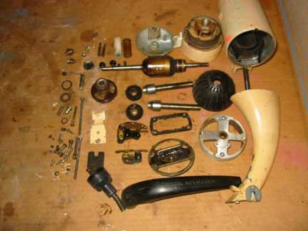 Jim Dayton: disassembled mixer
