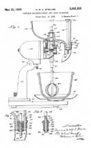 Sunbeam Mixmaster Juicer Patent No.2,002,333