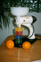 Sunbeam Mixmaster (as a Juicer)