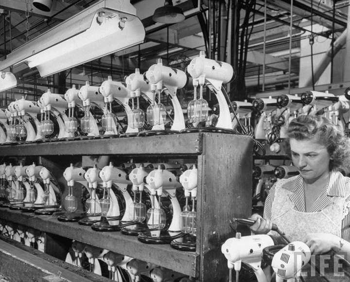 Sumbeam Mix Master Factory 1940s