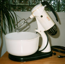 Sunbeam Mixmaster (as a Mixer)