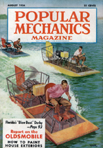 Mechanix illustrated article from August 1954