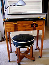 Modecraft Manicurist Table and Stool