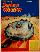 Railton-Cobb Car on the cover of Modern Wonder