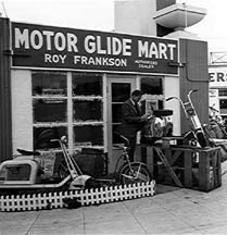 Motor Glide Dealership, Los Angeles c 1938